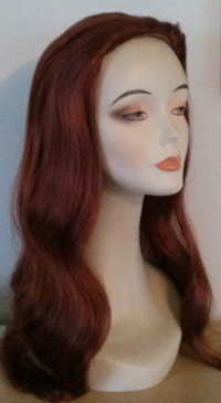 ashley 850 wig in color 130 henna red