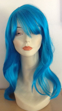 alicia wig in blue