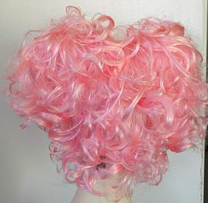 Angelica wig in pink