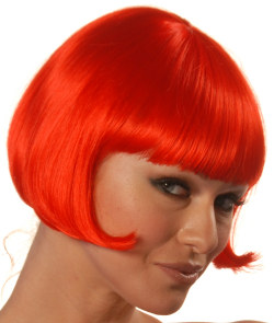 Angie wig in red