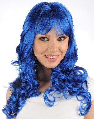Bally wig in dark blue