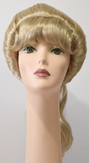 Barbie Beehive wig, front view