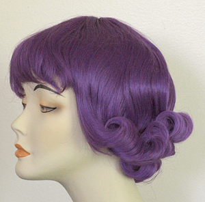 Brittany wig in d purple