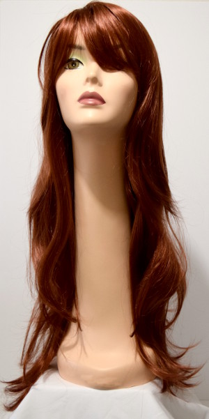 carmen wig, long wig with long bangs, front of color #130