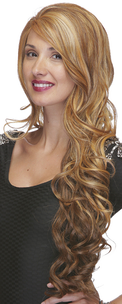 Champagne is a long lace-front wig by Sepia wigs
