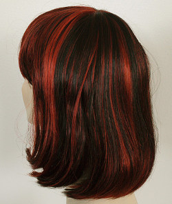 China Girl wig, back view