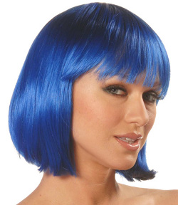 China Girl wig, blue