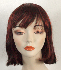 China girl wig front view
