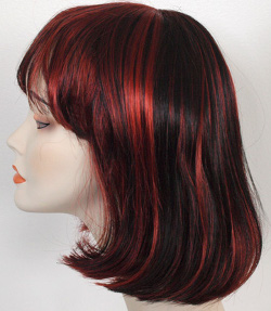 China girl wig side view