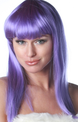 Cleo 601 wig in d purple