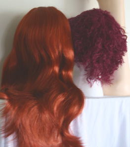 Henna Red Darker Copper Auburn Redhead Wig Color
