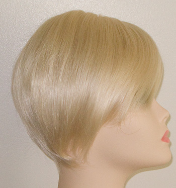 short cher wig side view