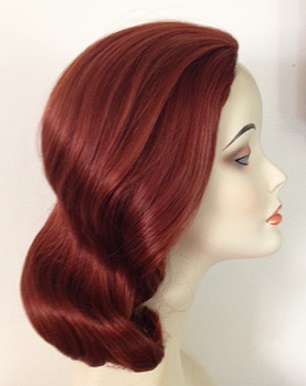 Lily 1225 wig in henna red 130