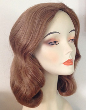 lily 1225 wig in color 27 auburn
