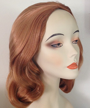 lily 1225 wig in color 27c auburn