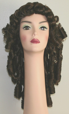 french curl alonge wig