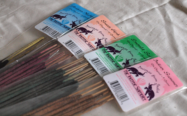 Incense from India brand incense