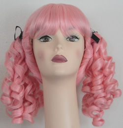 Innocent ponytail wig in light pink