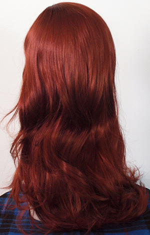 Lauren wig in 130, back view