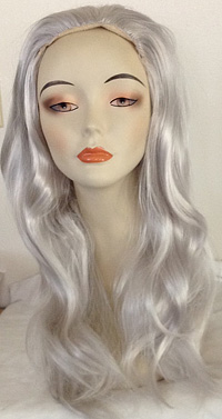 Linda wig in 60 white