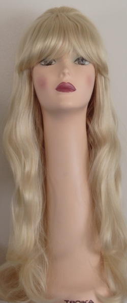 Priscilla long beehive wig, front view