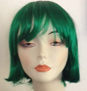 lulu wig in dark green