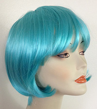 Lulu wig in light blue