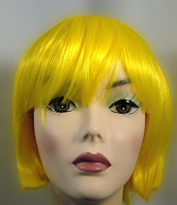 lulu wig in yellow