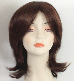 Monica wig, front view