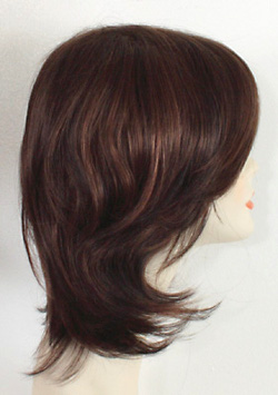 Monica wig, side view