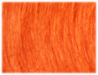 swatch of wig color outrage bright orange