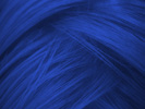 swatch of wig color electric indigo dark blue