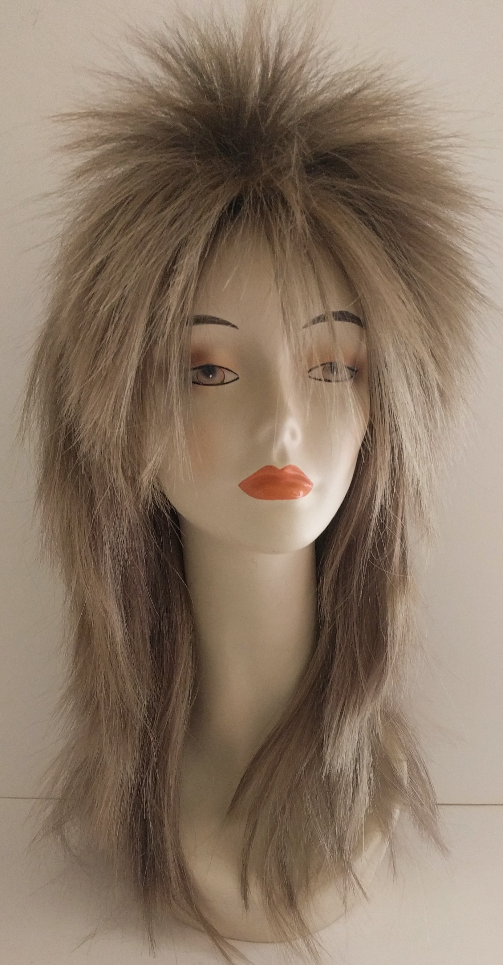 Punky wig in 18 h 24, perfect for Jareth from Labyrinth