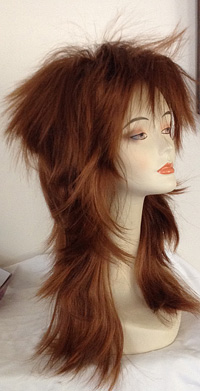punky spiked wig in 30