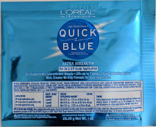 Loreal quick blue 1oz packet bleach lightener for hair