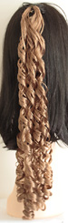 curly braid in color 14 light brown