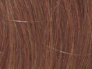 swatch of wig color 27a light auburn