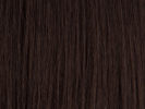 swatch of wig color 4 dark brown