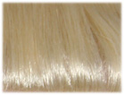 swatch of wig color 613 platinum blonde