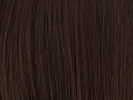 swatch of wig color 6 chestnut brown