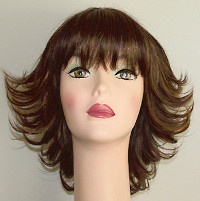 Blake wig front view