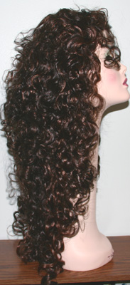 Diana 3 wig, side view