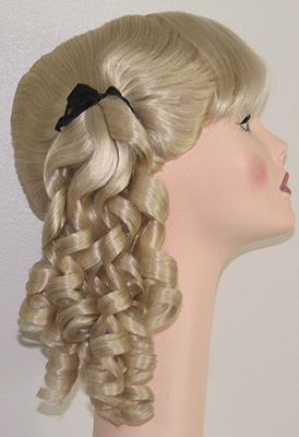 Innocent pony tail wig in 613, side view