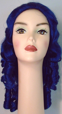 deluxe southern belle ringlet girl wig