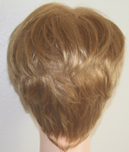 Roni wig, back view