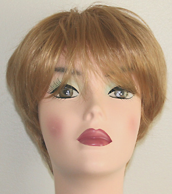 Roni wig, front view