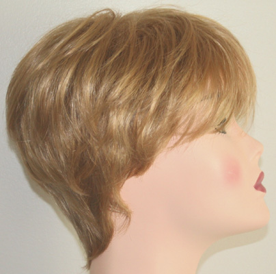 Roni wig, side view