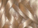 swatch of wig color 26 pale blonde