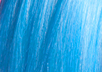 swatch of cool blue wig color