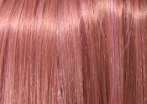 swatch of pink venom wig color